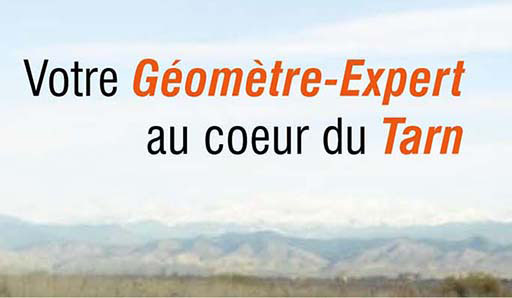 Votre Géomètre Expert à Albi, Gaillac et Réalmont